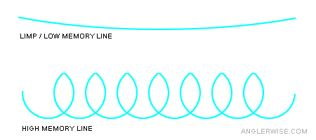 Fishing Line Memory Diagram