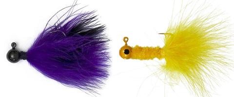 Marabou Jigs for Ultralight Fishing