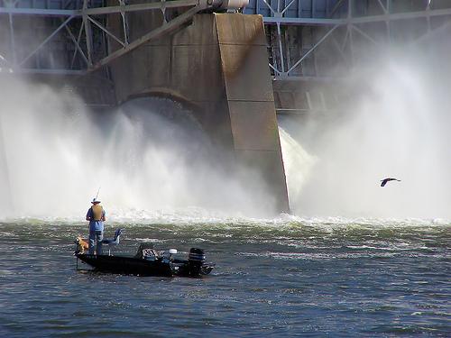 Ultralight Fishing in Dam