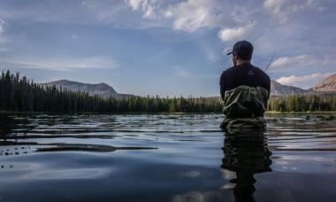 calm fishing