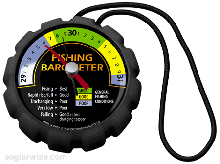 how does barometric pressure affect fishing cheat sheet