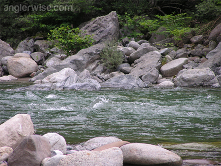 Fishing Strong Current Fast Water