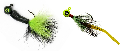 Combination Jigs for Ultralight Fishing