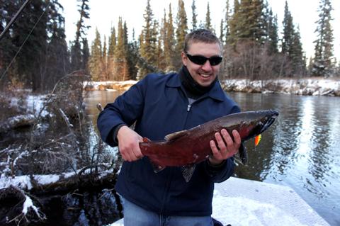 Ultralight Fishing For Salmon